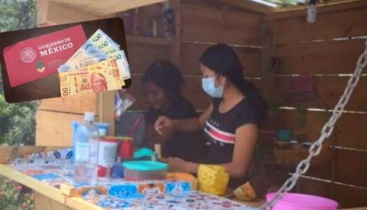 Joven ahorra beca que le dio AMLO y emprende negocio para ayudar a su familia