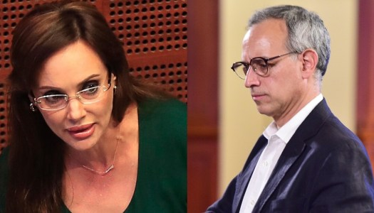 Lilly Téllez agrede a López-Gatell; ahora lo llama imbécil