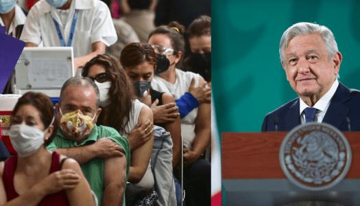 La nueva mentira de la derecha: que casi se paró la vacunación en México