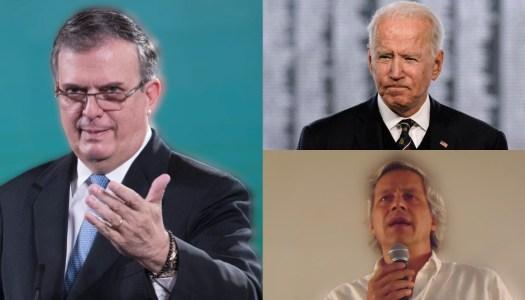 Ebrard: ¿Qué diría EU si México financiara ONG para derrotar a Biden?