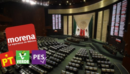 Morena y sus aliados mantendrán la mayoría absoluta en la Cámara