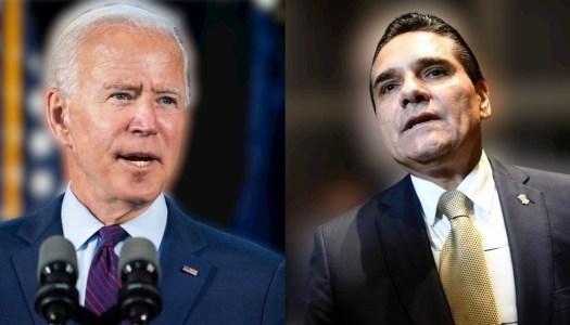 Aureoles le pide a Biden intervenir en la elección de Michoacán
