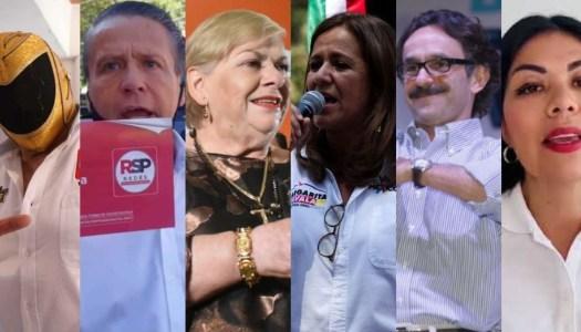 Las y los candidatos impresentables que nos dejó el 2021