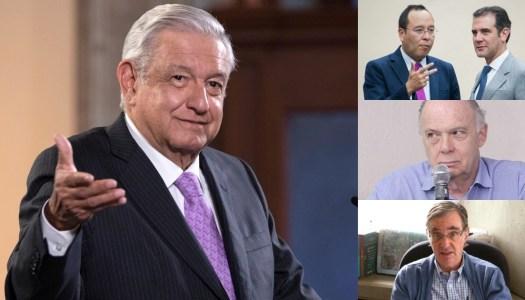 AMLO se lanza contra el INE, Krauze y Woldenberg por no promover consulta