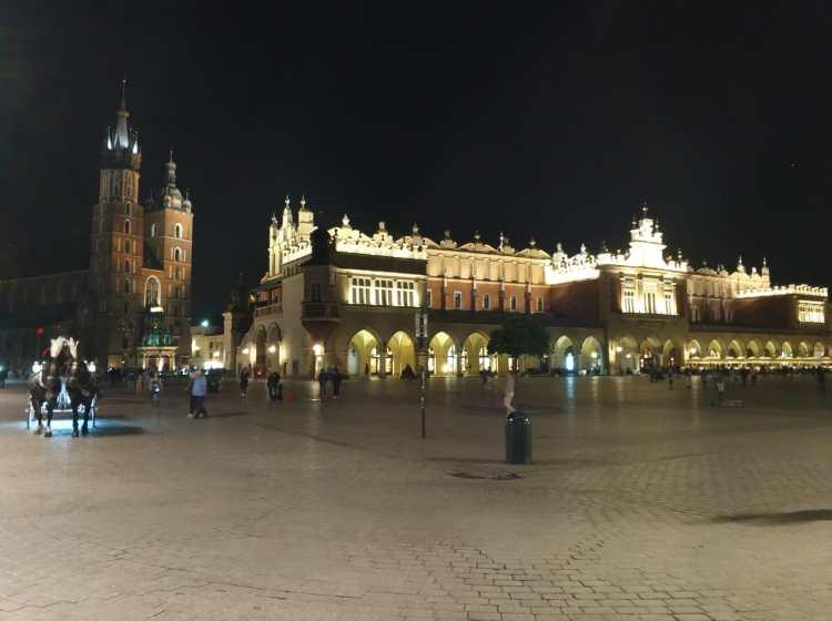 Krakau, Marienkirche, Sukiennice, Tuchhallen, Altstadt