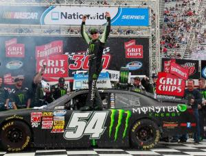 Kyle Busch Beats the Field in Bristol