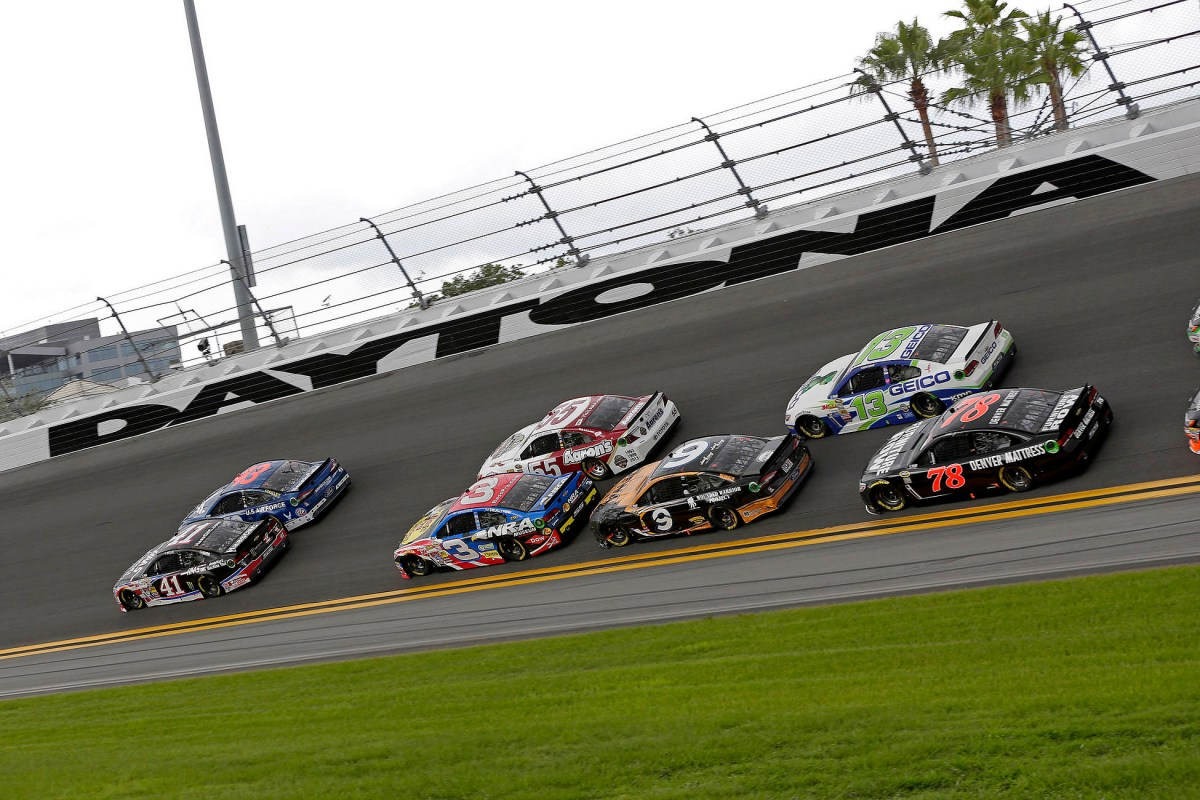 At Daytona International Speedway in Daytona Beach, Florida on July 6, 2014. Tommy Grassmann/CIA