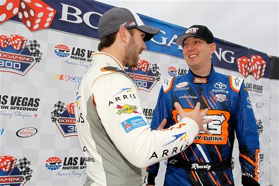 during the NASCAR Xfinity Series Boyd Gaming 300 at Las Vegas Motor Speedway on March 5, 2016 in Las Vegas, Nevada.