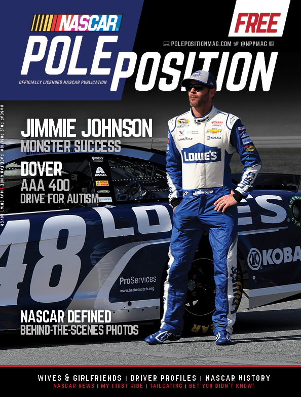 NASCAR Pole Position Dover in May 2016