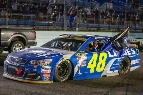 Jimmie Johnson Wins 7th NASCAR Championship