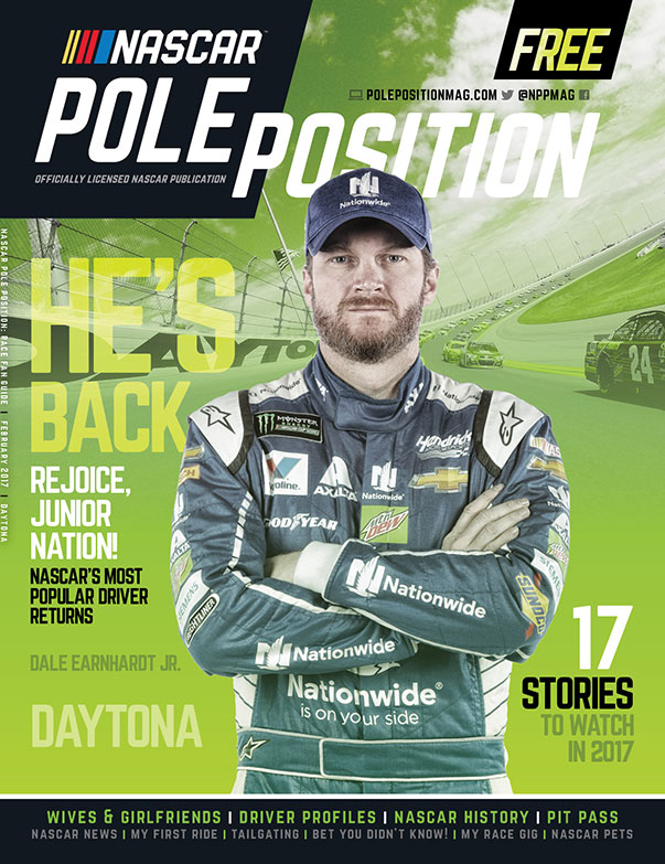 NASCAR Pole Position Daytona in February 2017