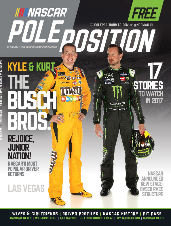 NASCAR Pole Position Las Vegas in March 2017