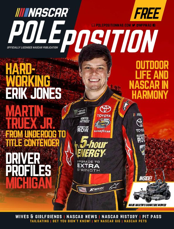 NASCAR Pole Position Aug./Sep. 2017