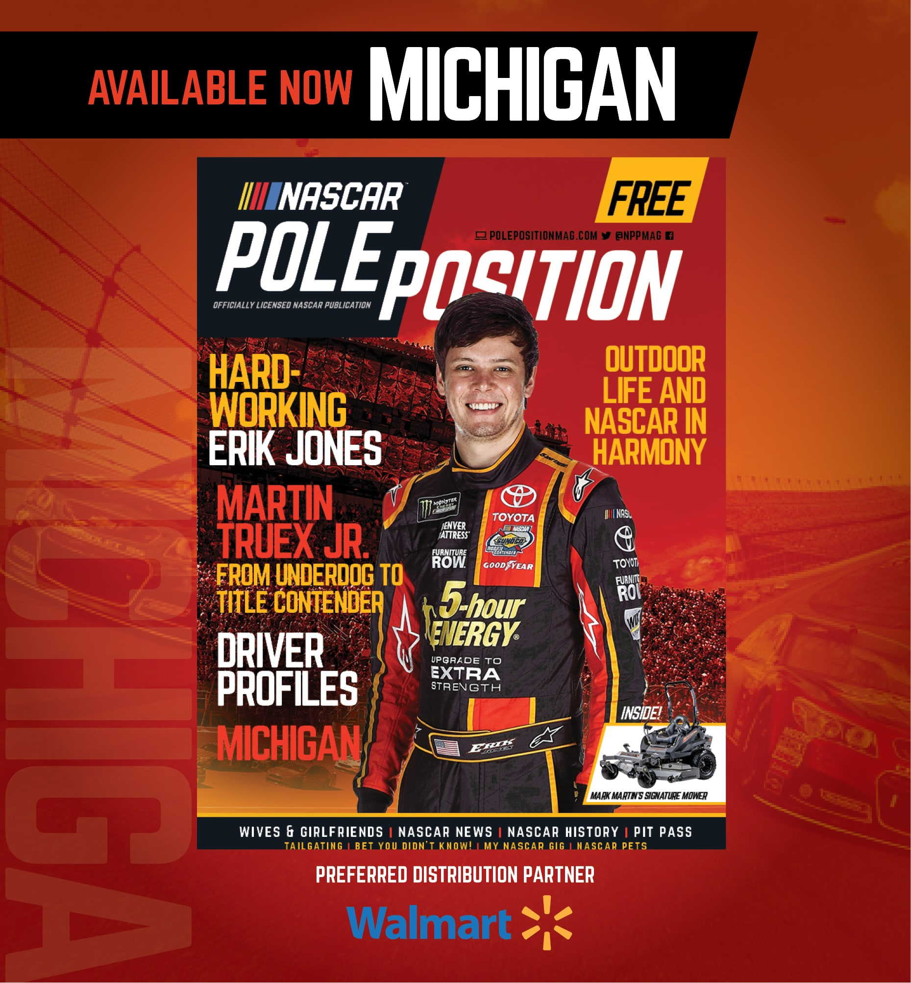 Michigan Edition of NASCAR Pole Position Available Now