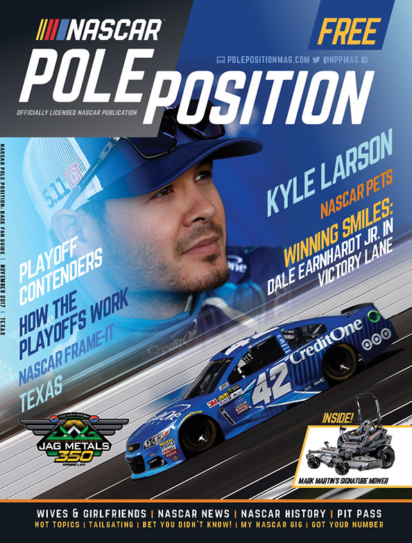 NASCAR Pole Position Texas in November 2017