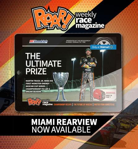 ROAR! Homestead-Miami in the Rearview