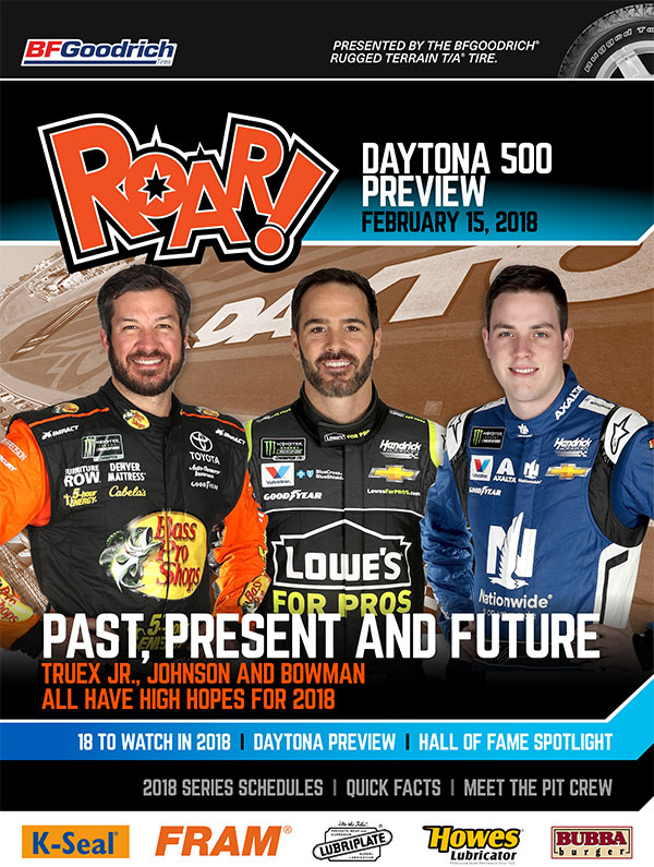 ROAR! Daytona Preview Edition February 2018