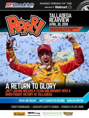 ROAR Talladega Rearview April 2018
