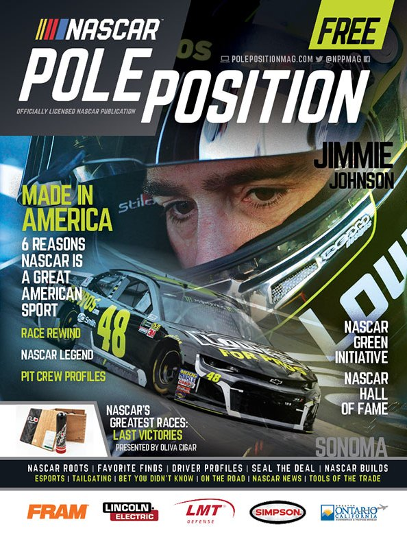 NASCAR Pole Position June/July 2018