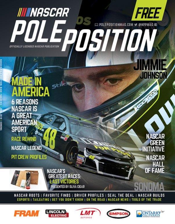 NASCAR Pole Position Sonoma in June 2018