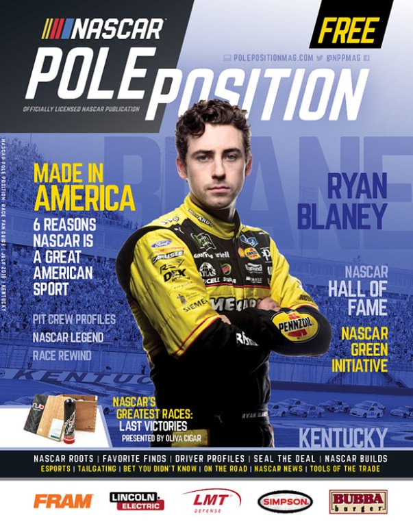 NASCAR Pole Position Kentucky July 2018