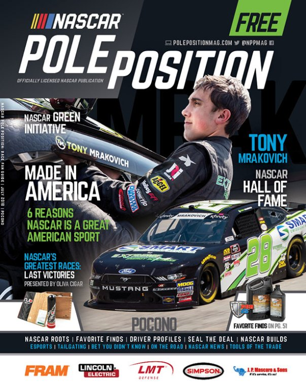 NASCAR Pole Position Pocono in July 2018