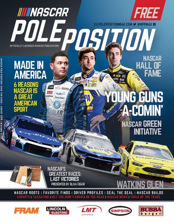 NASCAR Pole Position Watkins Glen in August 2018