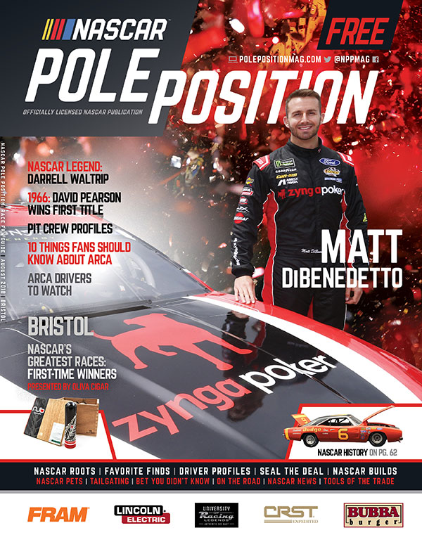 NASCAR Pole Position Bristol August 2018