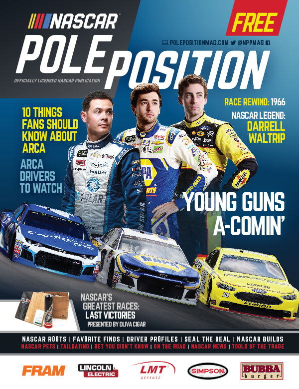 NASCAR Pole Position Aug/Sep 2018