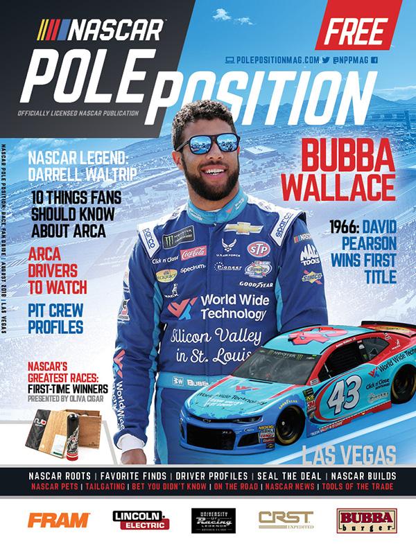 NASCAR Pole Position Las Vegas in September 2018