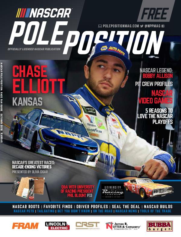 NASCAR Pole Position Kansas in October 2018