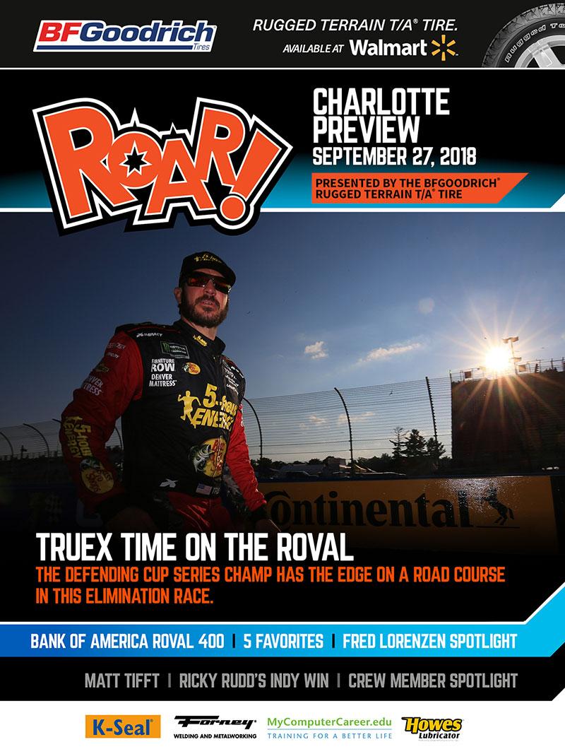 ROAR! Charlotte Race Weekend Preview September 2018