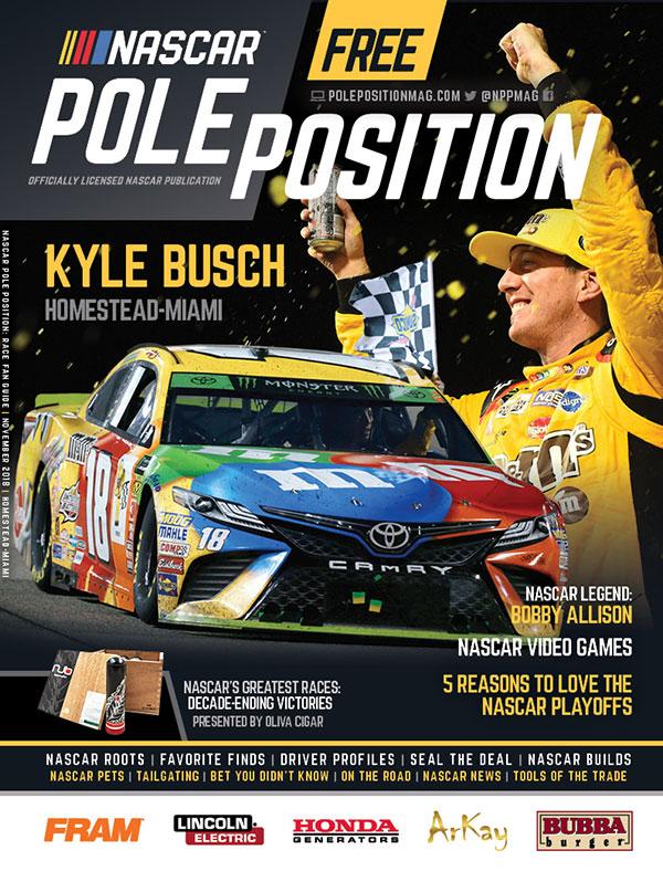 NASCAR Pole Position Miami in November 2018