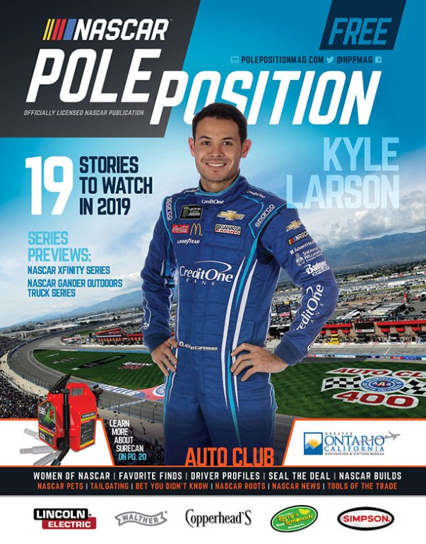 NASCAR Pole Position Auto Club March 2019