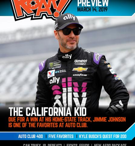 ROAR! Auto Club Race Weekend Preview March 2019