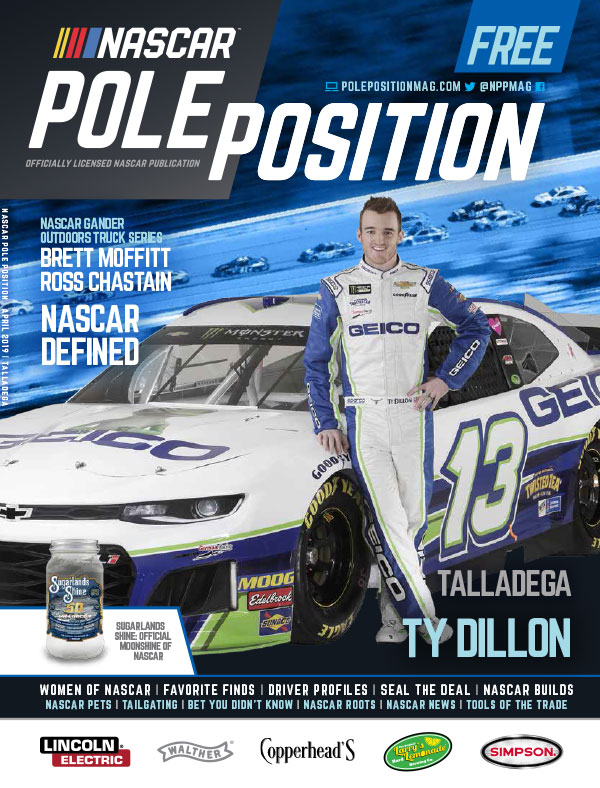 NASCAR Pole Position Talladega April 2019