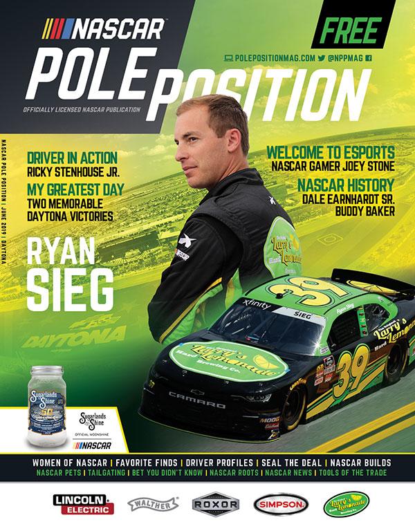 NASCAR Pole Position Daytona in July 2019