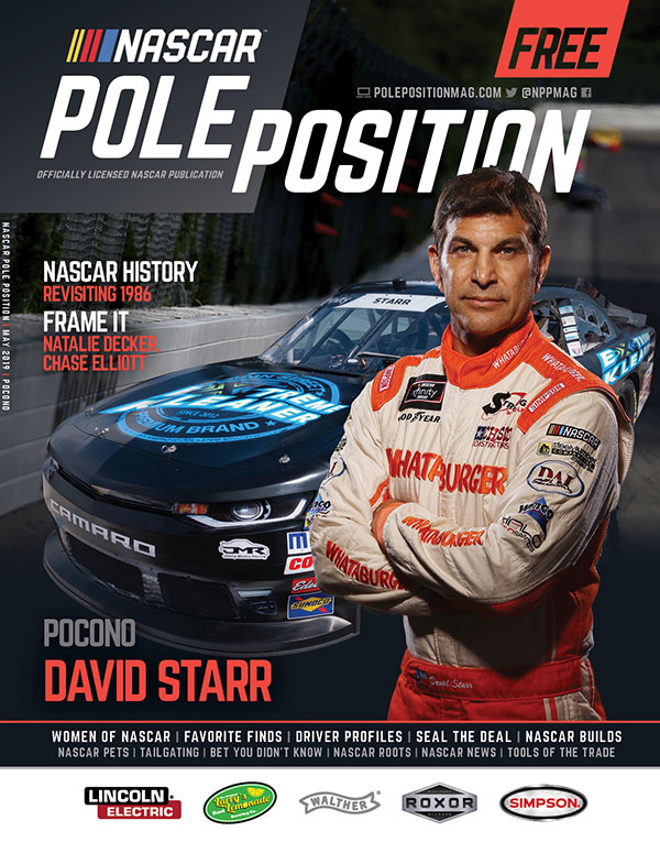 NASCAR Pole Position Pocono June 2019