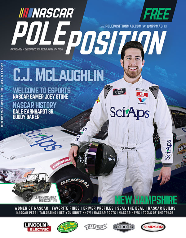 NASCAR Pole Position New Hampshire in July 2019