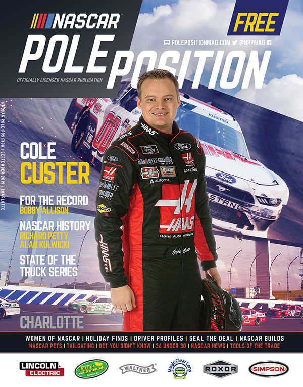 NASCAR Pole Position Charlotte in September 2019