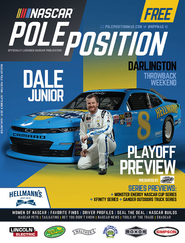 NASCAR Pole Position Darlington September 2019