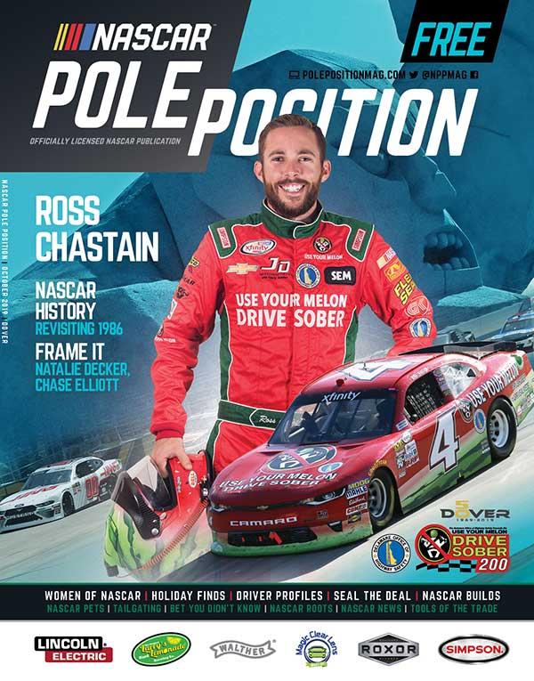 NASCAR Pole Position Dover in October 2019