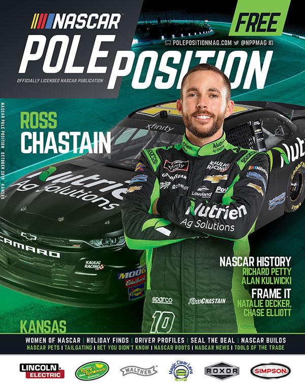 NASCAR Pole Position Kansas in October 2019