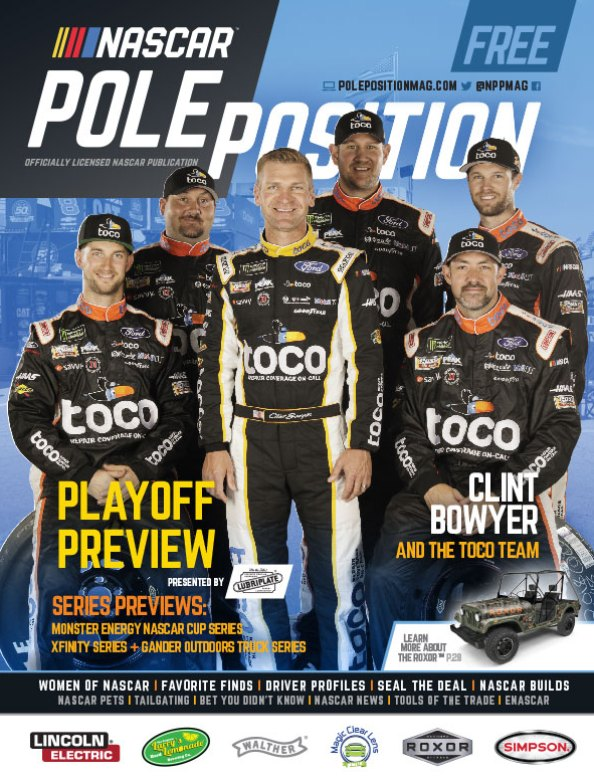 NASCAR Pole Position Aug/Sep 2019