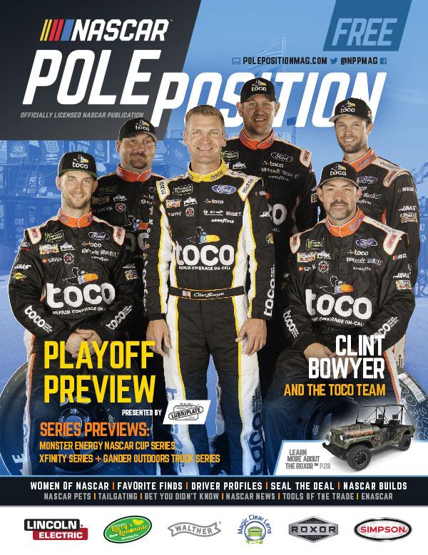NASCAR Pole Position Aug/Sep 2019