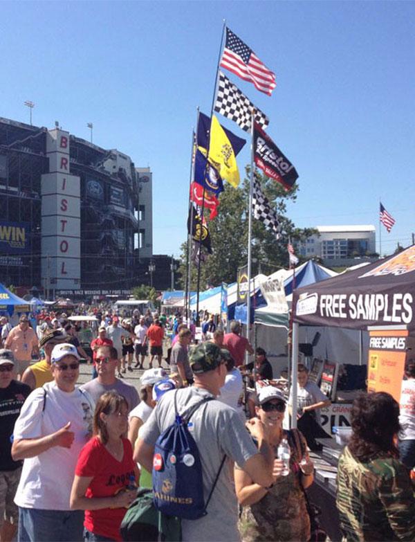 NASCAR Pole Position Trackside Sampling