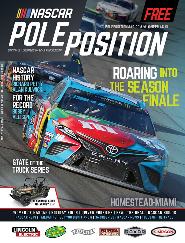 NASCAR Pole Position Homestead in November 2019