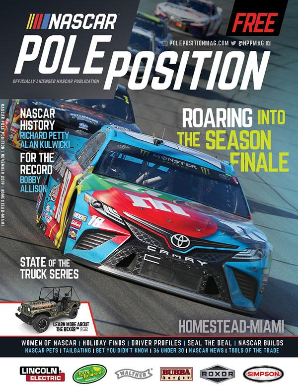 NASCAR Pole Position Miami in November 2019