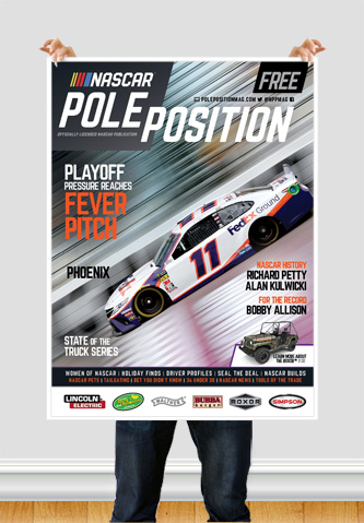 NASCAR Pole Position Phoenix in November 2019