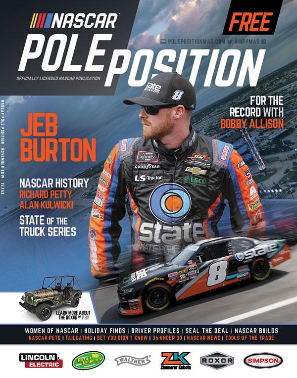 NASCAR Pole Position Texas in November 2019
